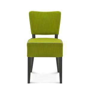 Zelená stolička Fameg Aslak