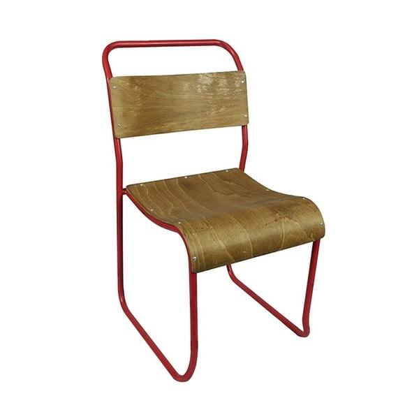 Stolička Chelsea Red