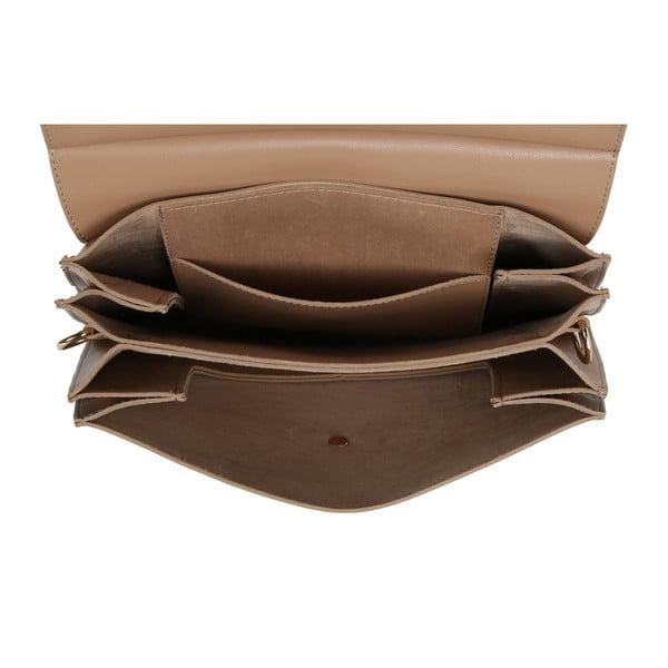 Béžová kabelka z eko kože Beverly Hills Polo Club Sylvia