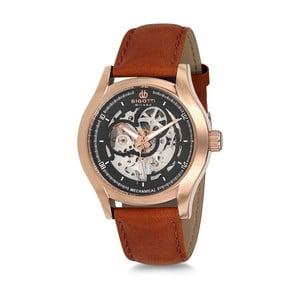 Pánske hodinky s koženým remienkom Bigotti Milano Stormy