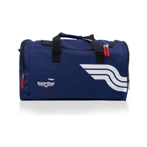Modrá športová taška American Travel Boston