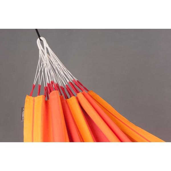 Hojdacia sieť Orquidea pre jedného, oranžová