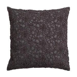 Vankúš Lace Charcoal, 45x45 cm