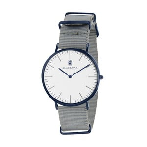 Sivo-biele pánske hodinky Black Oak Robo