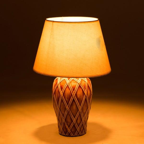 Keramická stolová lampa Brownsie