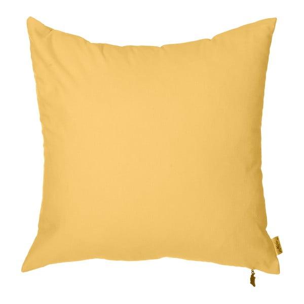 Obliečka na vankúš Apolena Denise 40x40cm, žltá