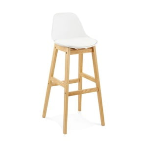 Biela barová stolička Kokoon Elody, výška 102 cm