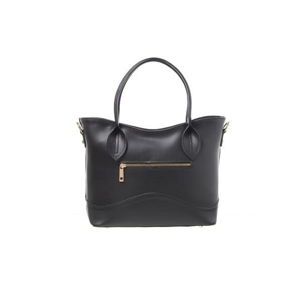 Kožená kabelka Yes Black