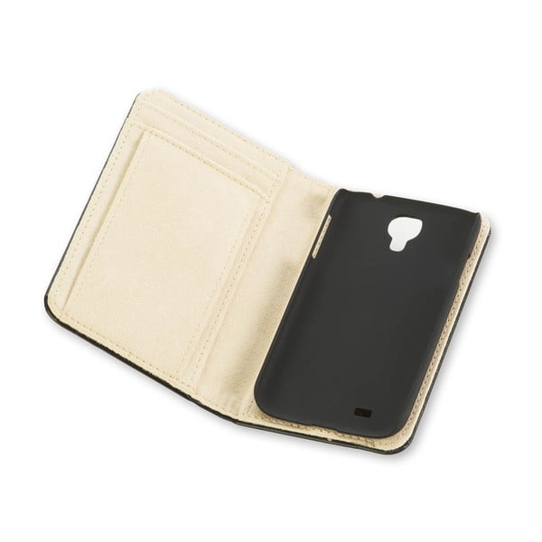 Obal na Samsung S4 Moleskine, čierny