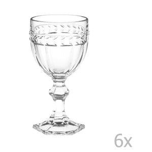Sada 6 pohárov na víno Brandani Foglia
