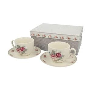 Set 2 porcelánových hrnčekov Roses