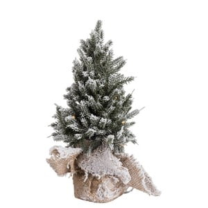 Svietiace LED dekorácie v tvare stromčeka J-Line Xmass Tree, výška 30 cm
