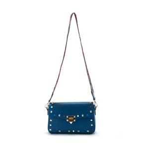 Modrá kožená kabelka Roberta M slay