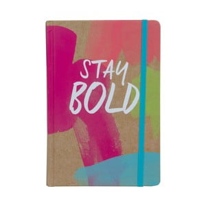 Zápisník Stay Bold