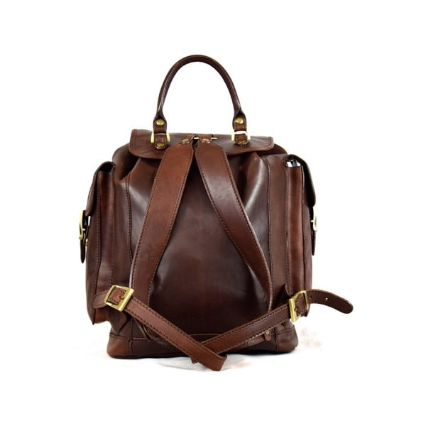 Kožený batôžtek Santo Croce 8800 Dark Brown