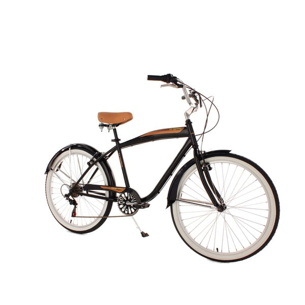 Bicykel Beachcruiser Vintage Black, 26""