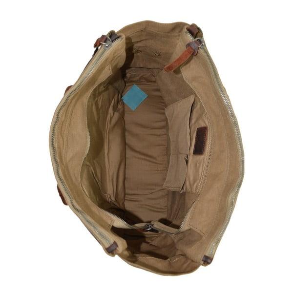 Béžová kožená kabelka Juliet