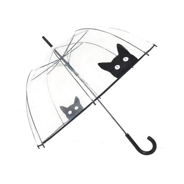 Transparentný dáždnik Susino Cat