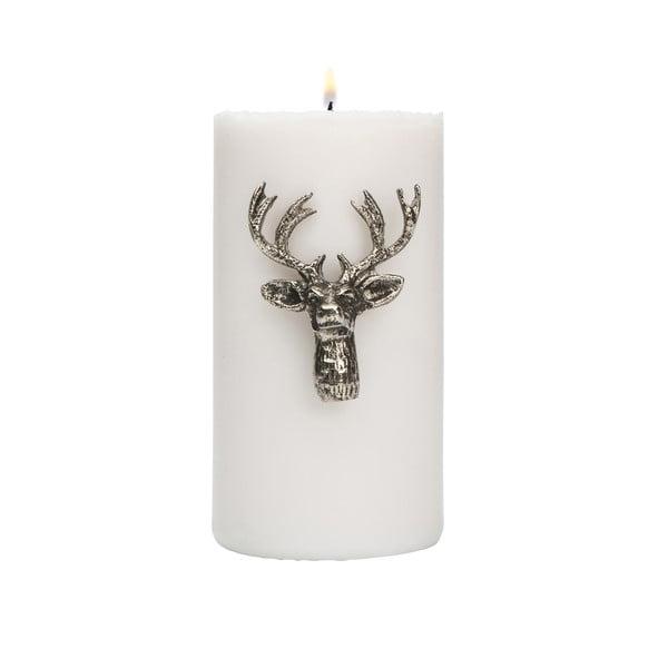Ozdoba na sviečku Deer Silver