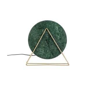 Zelená stolová lampa Dutchbone Louis