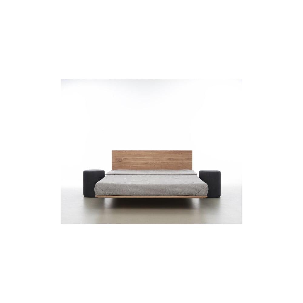 Posteľ z olejovaného dubového dreva Mazzivo Nobby, 120 × 200 cm