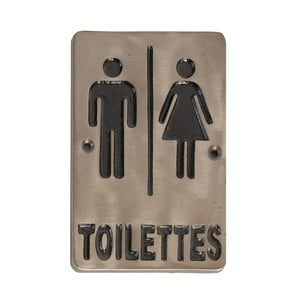 Ceduľa Antic Line Toilettes Antic