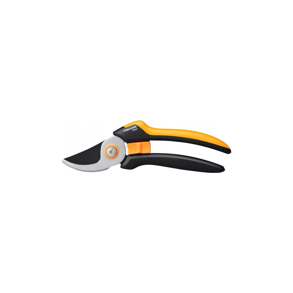 Čierne oceľové dvojsečné nožnice Fiskars Solid, dĺžka 26,5 cm