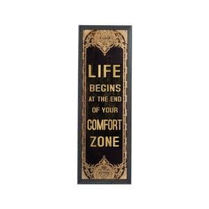 Nástenný obraz Comfort Zone, 125x42 cm