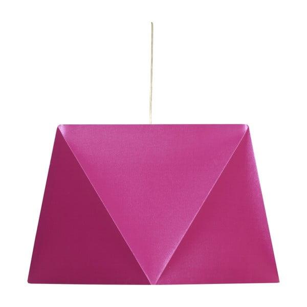 Závesné svetlo Hexagen, ružové