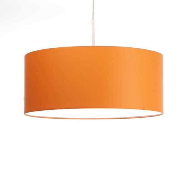 Oranžové stropné svetlo Artist, variabilná dĺžka, Ø 60 cm