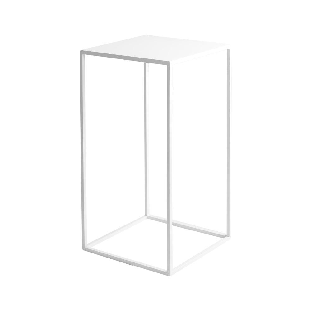 Biely odkladací stolík Custom Form Tensio