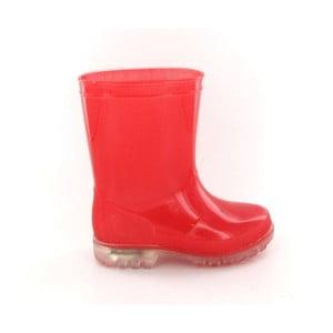 Detské červené gumáky Ambiance Kid Rain Boots, veľ. 28