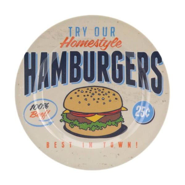 Kempingová sada riadu Hamburgers, 6 ks