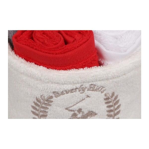Set 4 uterákov a puzdra Beverly Hills Polo Club, 30 × 30 cm