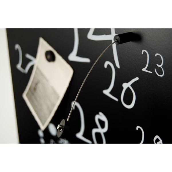Magnetický kalendár Krok Black, 30x100 cm
