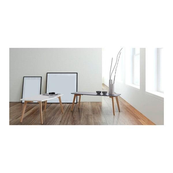Biely konferenčný stolík sømcasa Marco