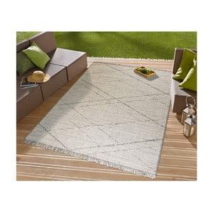 Béžový koberec vhodný aj do exteriéru Floorita Les Gipsy Cream, 194 × 290 cm