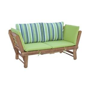 Rozkladacia záhradná lavica z agátového dreva SOB Garden