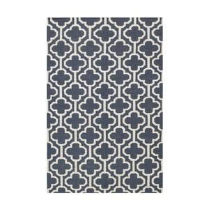 Vlnený koberec Penelope Dark Grey, 140x200 cm