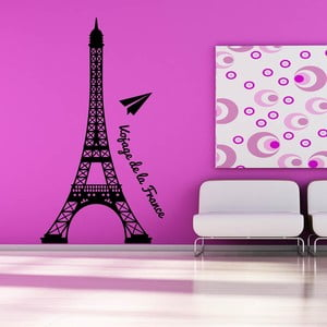 Samolepka na stenu De La France