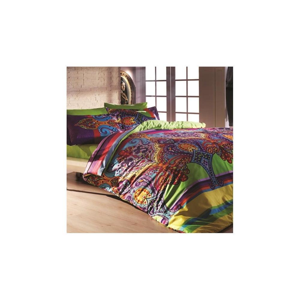 Obliečky s plachtou na dvojlôžko Orient, 200 × 220 cm