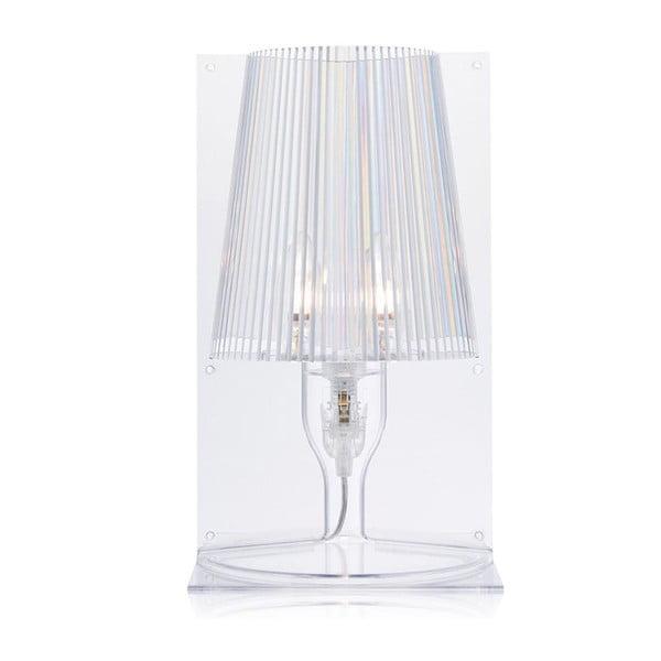 Transparentná stolová lampa Kartell Take