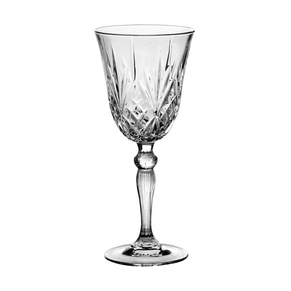 Set 4 pohárov Melodia, 270 ml