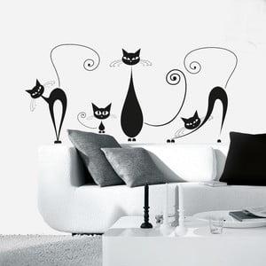 Dekoratívna samolepka Eurographics Mačičky