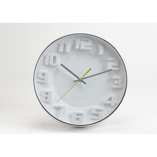 Hodiny White Modern, 35 cm