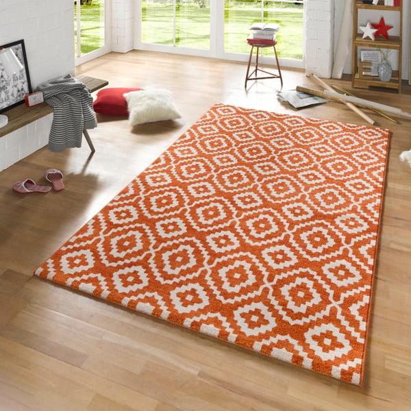 Oranžový koberec Schöngeist & Petersen Diamond Ornamental, 160 x 230 cm