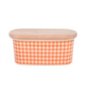 Dóza na maslo od Nigelly Lawson Gingham Orange