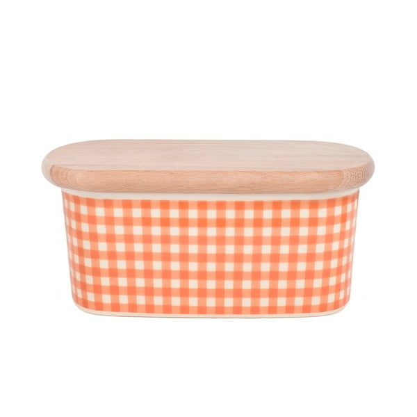 Dóza na maslo od Nigelly Lawson Gingham Orange