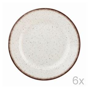 Sada 6 ks tanierov Bakewell Mint, 26 cm
