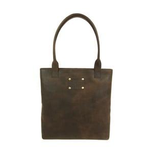 Kožená kabelka O My Bag Posh Stacey midi,hnedá